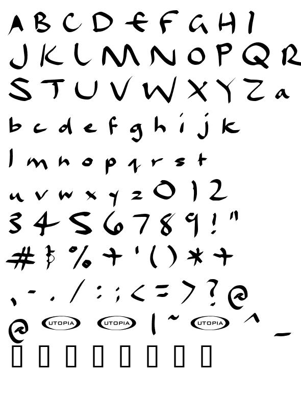 Fuente dael calligraphy descargar bajar fuentes gratis